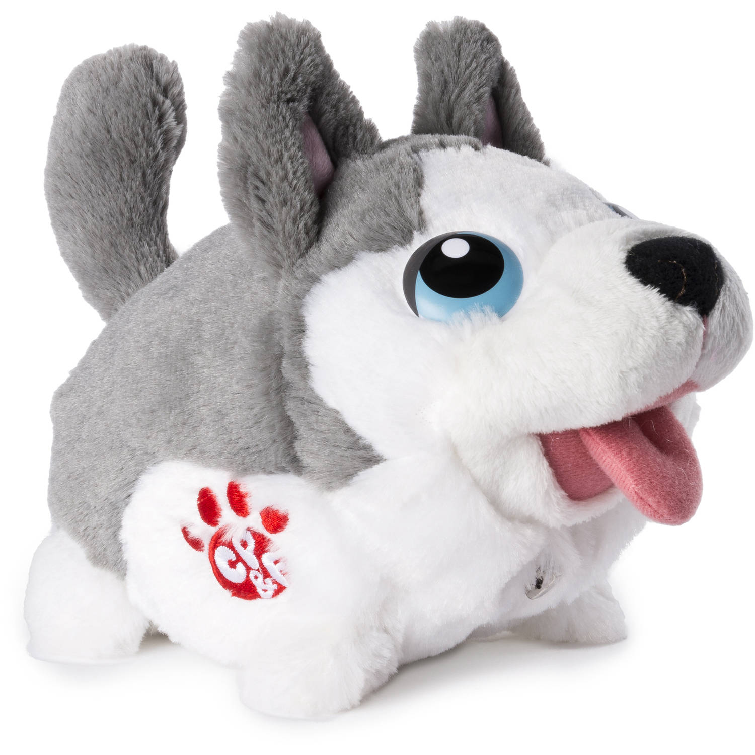 Chubby Puppies & Friends Bumbling Puppies Plush, Husky