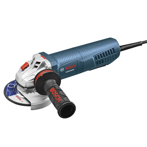 Bosch AG40-85PD 4-1/2 in. 8.5 Amp Angle Grinder w/ No Lock-On Paddle Switch
