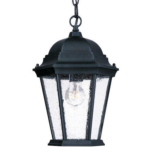 Acclaim Lighting  5206  Pendants  Richmond  Outdoor Lighting  ;Matte Black / Clear Seeded Glass