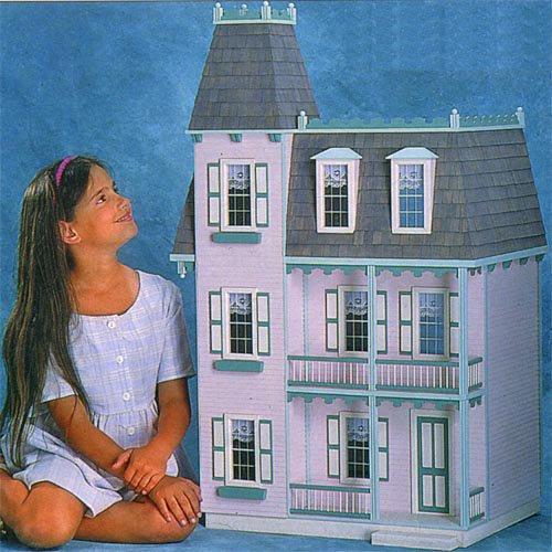 Alison Jr Dollhouse - Milled MDF