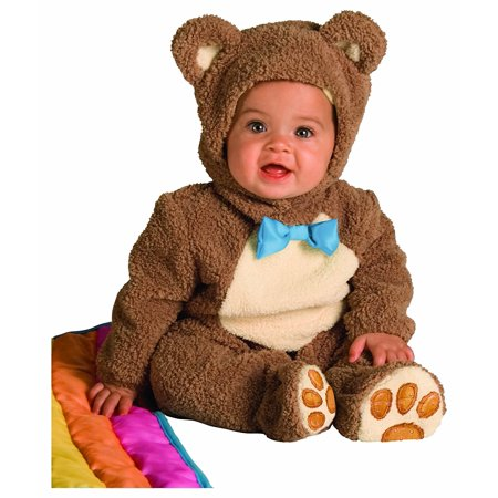 Rubie's Costume Infant Noah Ark Collection Oatmeal Bear Jumpsuit, Brown/Beige, 18-24 Months, Chenille and flannel footed costume jumpsuit with character.., By (Noah's Ark Baby Bear Costume)