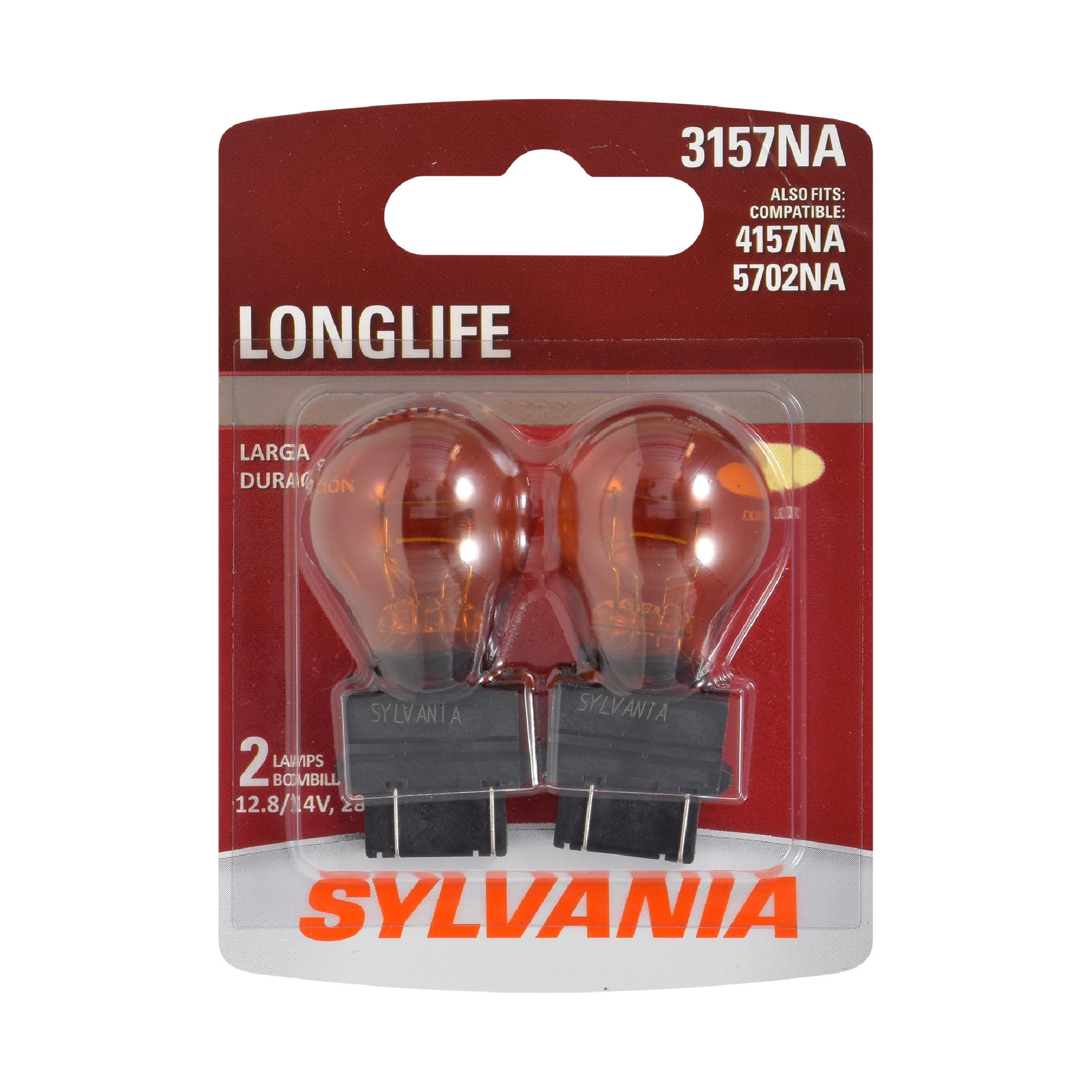 SYLVANIA 3156 Long Life Miniature Bulb, Contains 10 Bulbs
