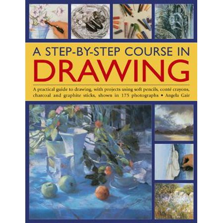 A Step-By-Step Course in Drawing : A Practical Guide to Drawing, with Projects Using Soft Pencils, Cont� Crayons, Charcoal and Graphite Sticks, Shown in 175 Photographs](Halloween Projects With Popsicle Sticks)