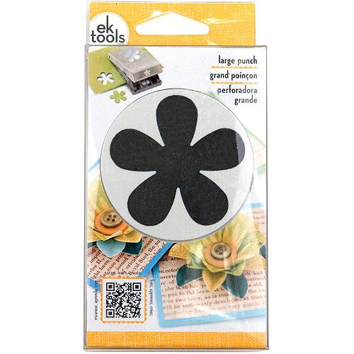 "EK Success Slim Paper Punch Large, Retro Flower, Approx. 2"""