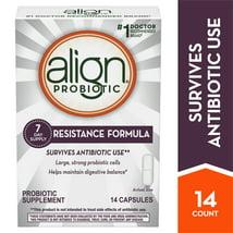 Probiotics: Align Resistance Formula