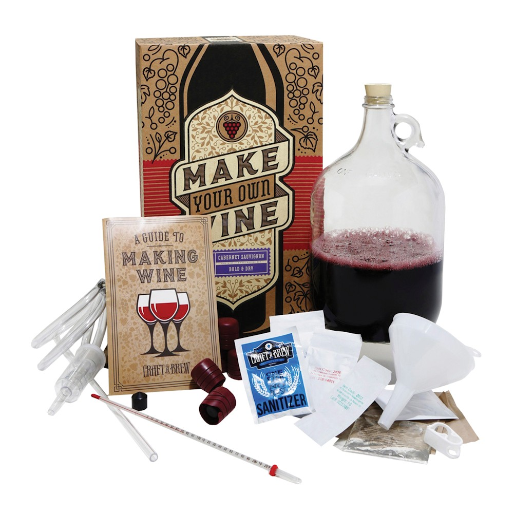 Craft A Brew - Cabernet Sauvignon Wine Making Kit - Make ...