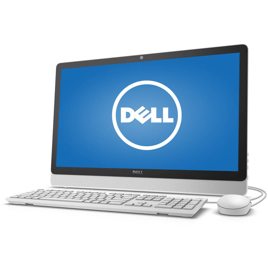 """Dell Inspiron 3455 All-in-One Desktop PC with AMD E2-7110 Processor, 4GB Memory, 23.8"""" touch screen, 1TB Hard Drive and Windows 10"""