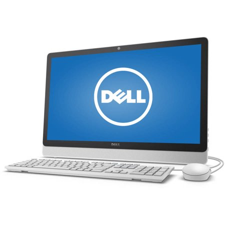 "Dell Inspiron 3455 All-in-One Desktop PC with AMD E2-7110 Processor, 4GB Memory, 23.8"" touch screen, 1TB Hard Drive and Windows 10"