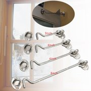 Stainless Steel Cabin Hook And Eye Latch Lock Shed Gate Door Catch Silent Holder