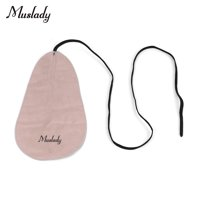 Muslady Wind Instruments Cleaning Cloth with Strap Soft Artificial Shammy Cleaner for Oboe Flute Clarinet Saxophone Trumpet Inside Instrument Cleaing Kit