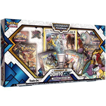 Pokemon TCG: Legends of Johto Gx Premium Collection Box + 6 Booster Pack Dark Crisis Booster Box