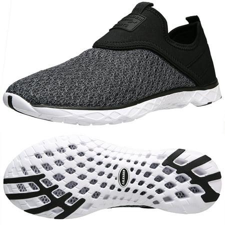 54bab10b5270 Aleader - Aleader Men s Slip-on Athletic Aqua Water Shoes - Walmart.com