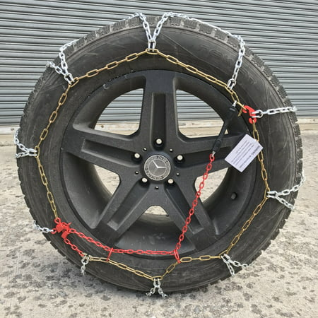 Snow Chains 285/45R22, 285/45 22 ONORM Diamond Tire Chains set of 2 - image 1 of 4