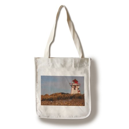 Prince Edward Island - Covehead Lighthouse - Lantern Press Photography (100% Cotton Tote Bag - (Cove Head)