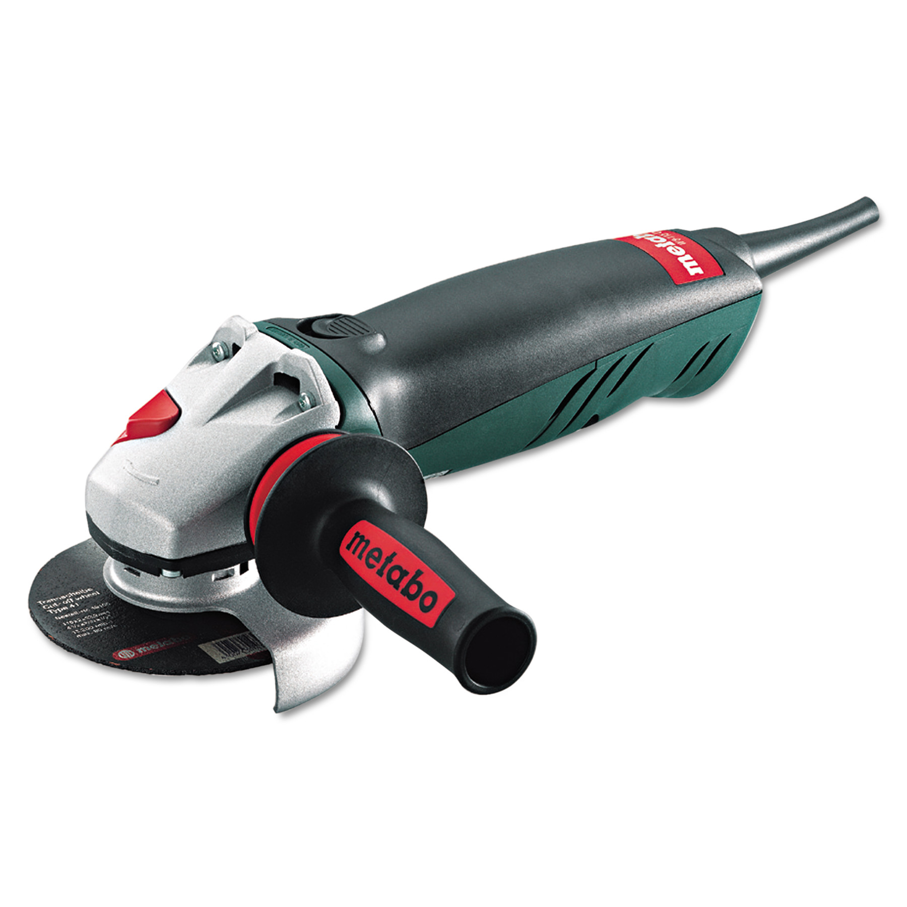 "metabo W8 115QWC Compact Class Professional Series Angle Grinder, 4 1/2"" Wheel"