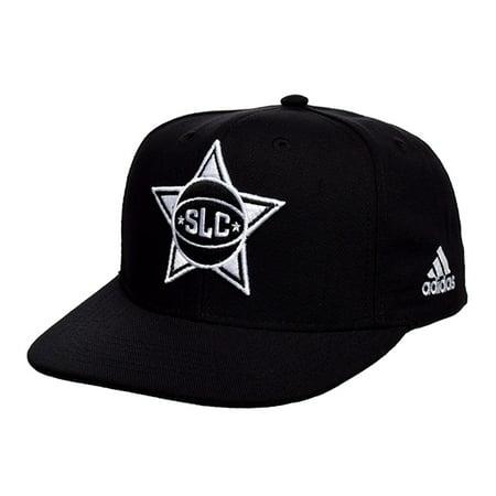 Salt Lake City Stars Adidas Nh40z Snapback Adjustable Fit Hat  Black