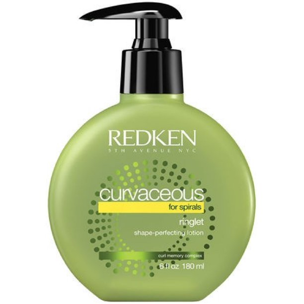 Redken Curvaceous Ringlet Anti-Frizz Protecting Lotion, 6 Oz
