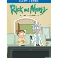 Rick And Morty: The Complete - Seasons 1-3 (Blu-ray)