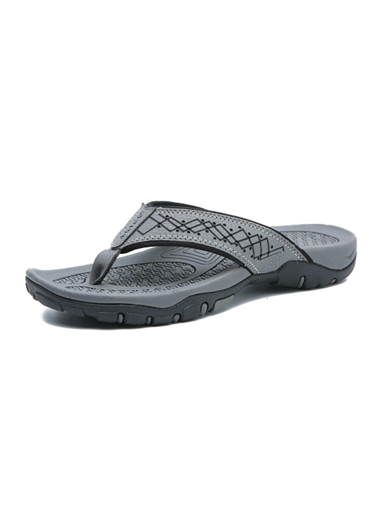 OwnShoe Mens Flip Flops Sport Thong Sandals Comfort for Outdoor Beach