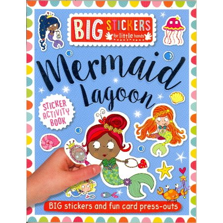 Mermaid Lagoon Sticker Activity Book (Big Stickers for Little Hands)](Mermaid Stickers)