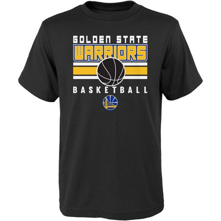 Youth Black Golden State Warriors Alternate T-Shirt