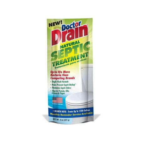 Doctor Drain Natural Septic Treatment, 8 oz