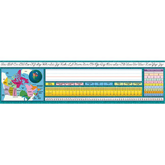 North Star Teacher Resource NST9025 Traditional Cursive Canadian Desk Plates