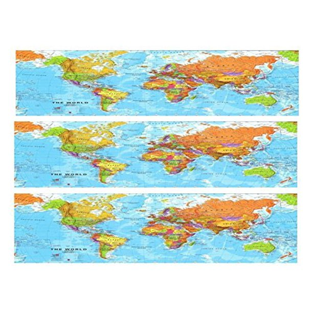 Pleasing World Map Birthday Cake Side Designer Strip Edible Cake Funny Birthday Cards Online Alyptdamsfinfo
