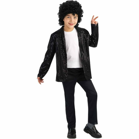 Michael Jackson Deluxe Billie Jean Jacket Child Halloween Costume for $<!---->