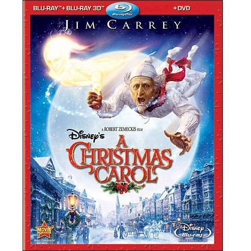 Disney's A Christmas Carol (Blu-ray + 3D Blu-ray + DVD) (Widescreen)
