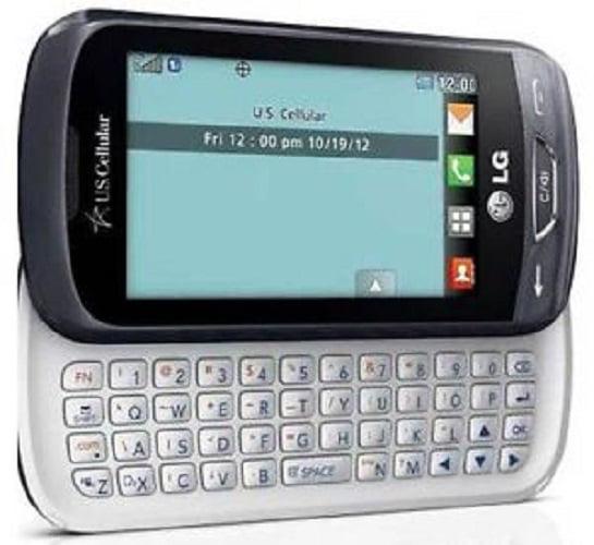Refurbished LG UN272 Freedom Titan Gray Prepaid Smartphone U.S. Cellular