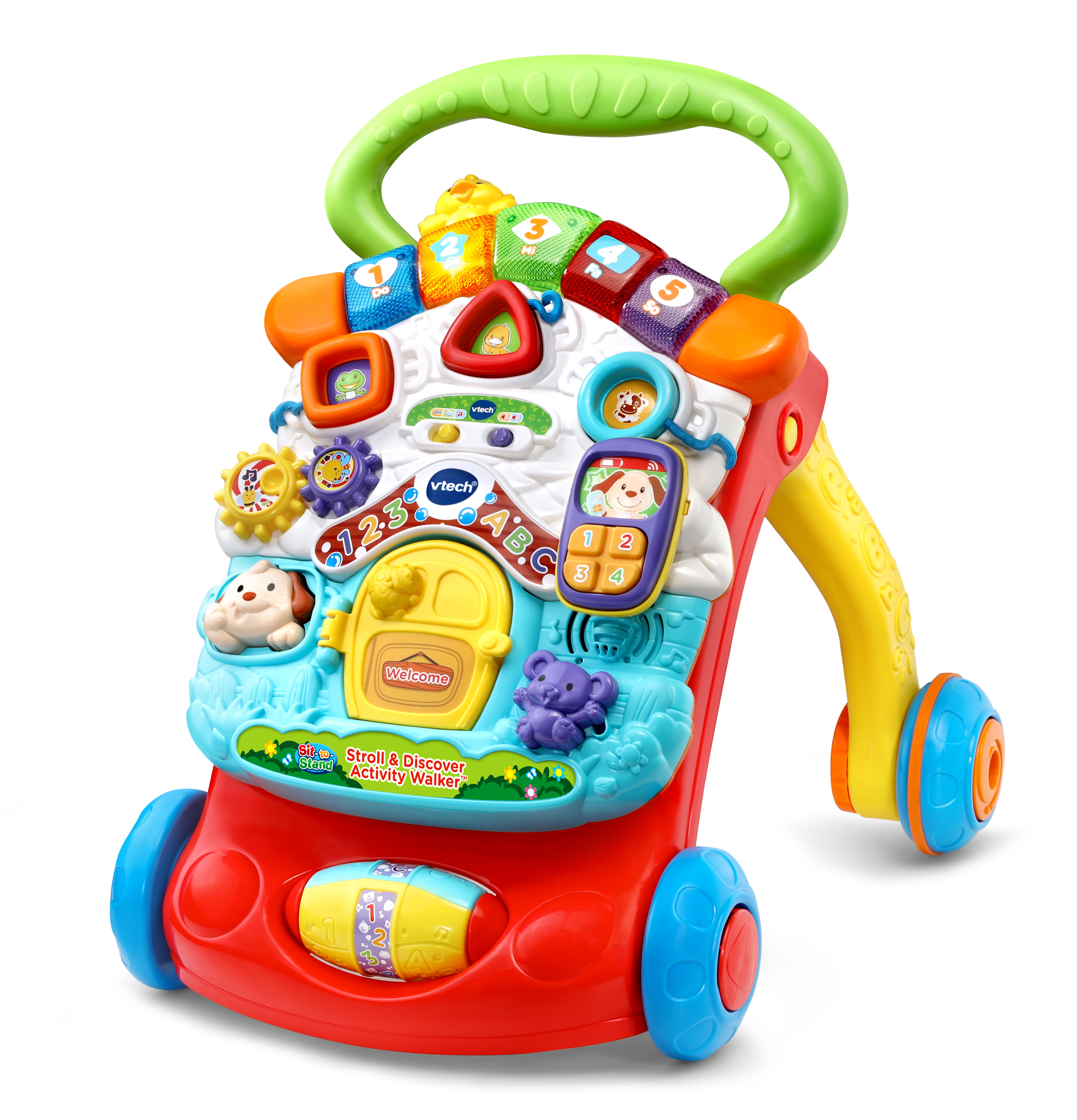 VTech Stroll and Discover Activity Walker, Toy Walker for ...