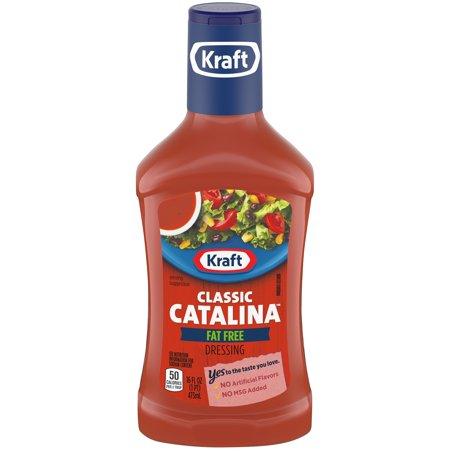 Fat Free Sweet - Kraft Classic Catalina Fat Free Dressing 16 fl. oz. Bottle