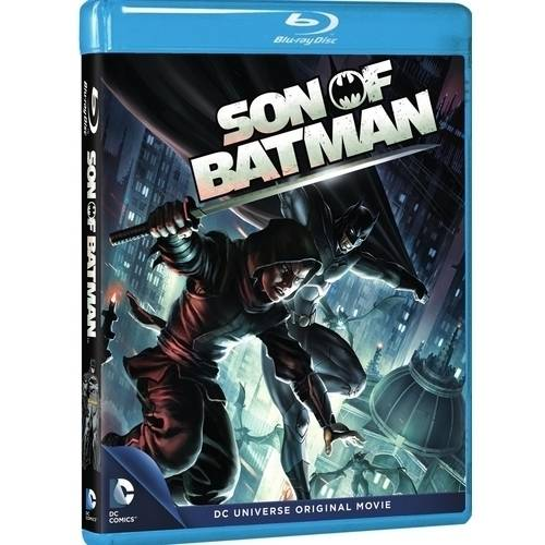 DC Universe: The Son Of Batman (Blu-ray   DVD   HD Digital) (With INSTAWATCH) (Anamorphic Widescreen)