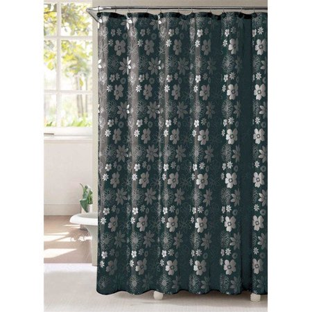Victoria Classics Ammie Shower Curtain With Resin Hooks 13 Pc Set