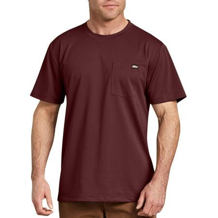 Mens Short Sleeve Denim - Men's Short Sleeve Performance Pocket T-Shirt