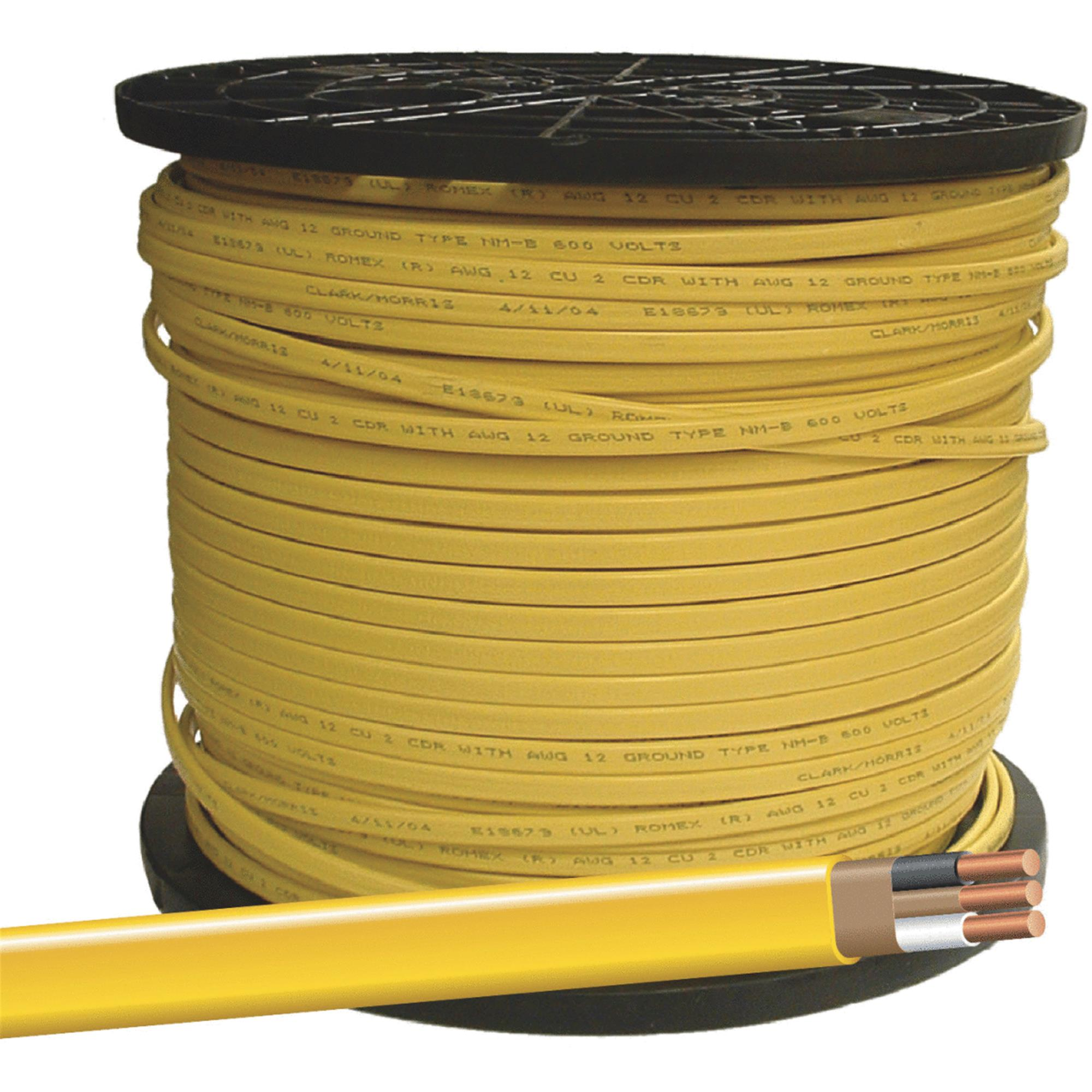 Southwire Romex 12-2 NMW/G Wire