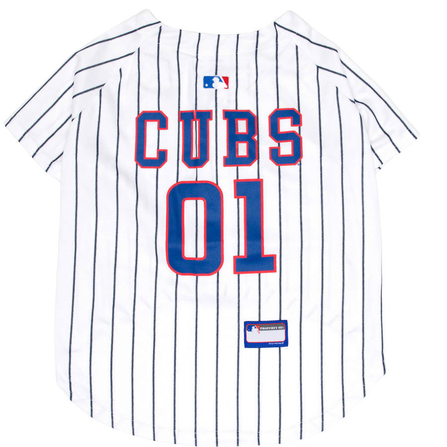 Pets First MLB Chicago Cubs Dog Jersey, XX Large
