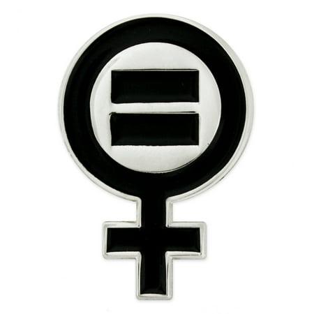 Pinmarts Venus Symbol Womens Equal Rights Feminism Lapel Pin