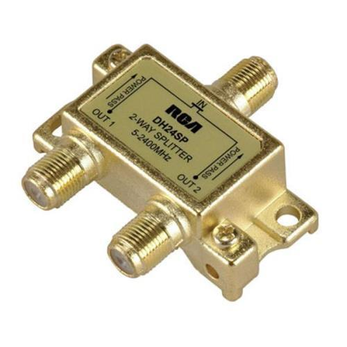 RCA Digital Plus 2.4GHz Directional Splitter Gold 2-Way