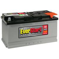 EverStart Platinum AGM Battery, Group Size H8 (12 Volt/900 CCA)