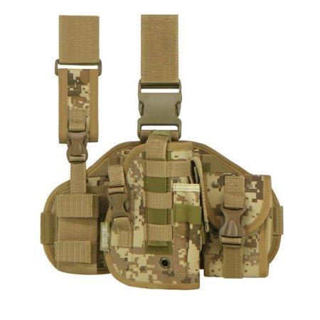 - RTGC605-TAN ACU Tactical Leg Rig Holster Tan ACU Digicam