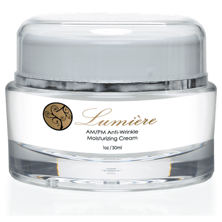 Lumiere Anti-Wrinkle/ AM/PM Moisturizer Anti-Aging Face Cream By Lumiere Skincare- Premium Anti-Aging Formula- Deeply Hydrate Skin to Fill out Wrinkles and Lines- Evens Complexion