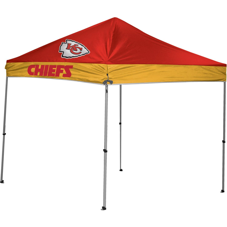 NFL Kansas City Chiefs 9' x 9' Straight Leg Canopy by Rawlings