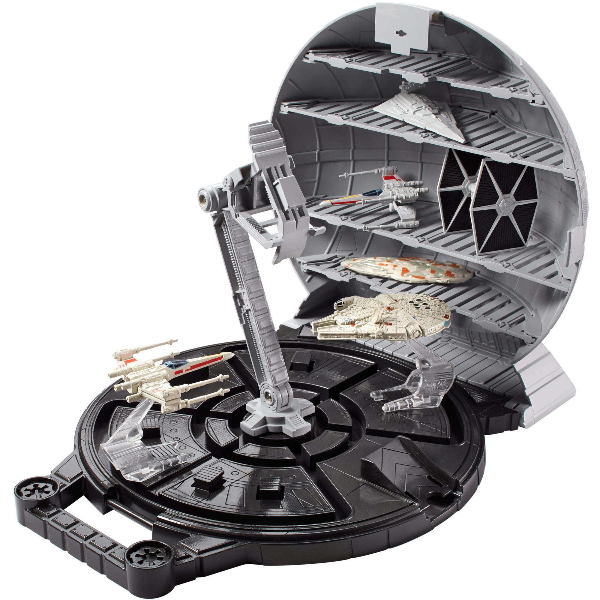 Hot Wheels Star Wars Death Star Play Case