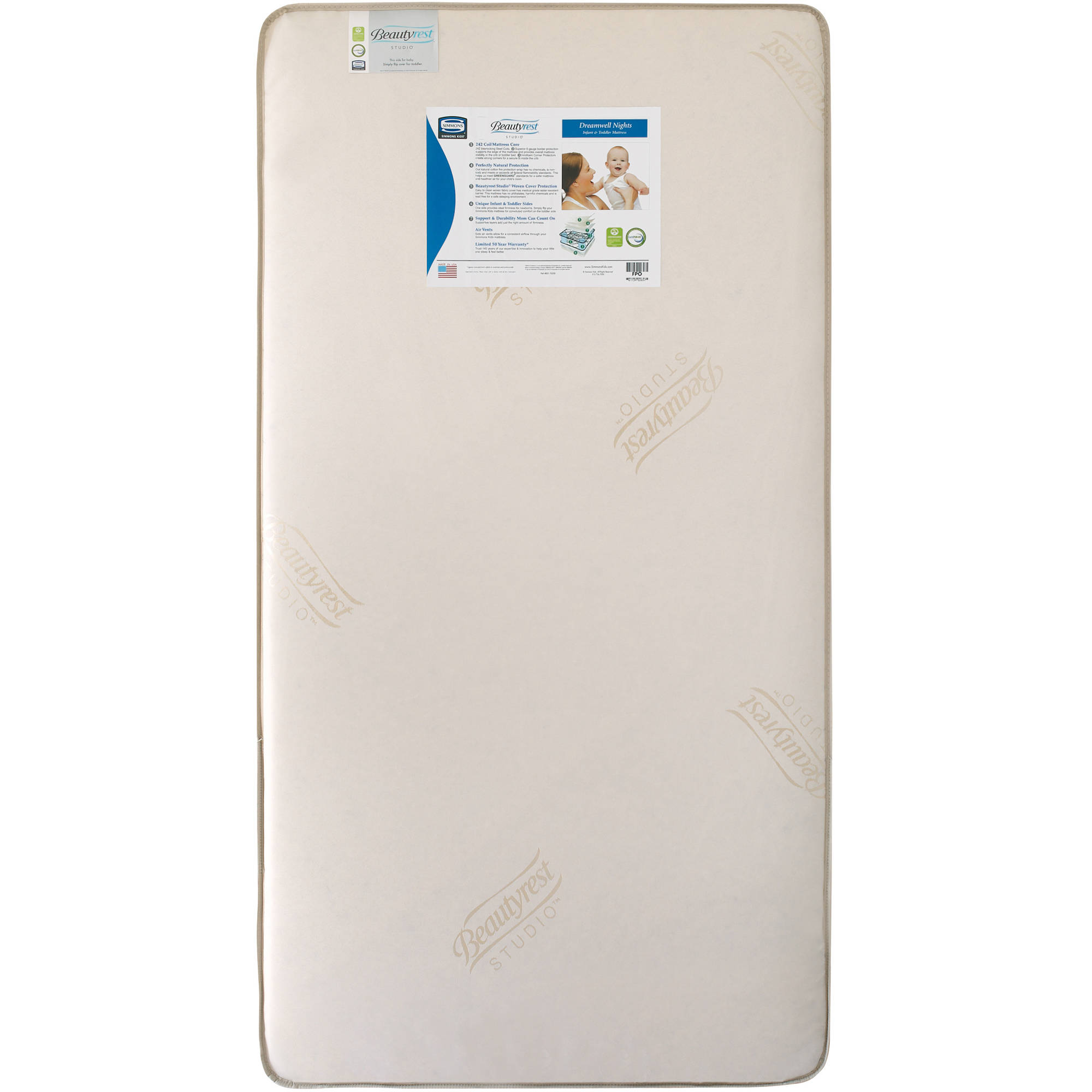 Simmons Dreamwell Nights Infant and Toddler Crib Mattress