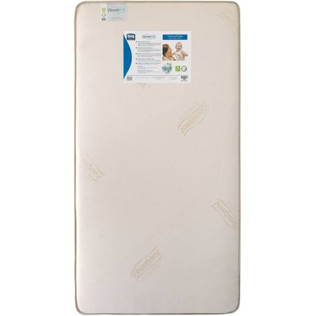 the best attitude 55ed9 e4009 Beautyrest Studio Dreamwell Nights 5.5-Inch Crib and Toddler Crib Mattress  - 242 Interlocking Coils - Dual Sided - Waterproof Fabric Cover - ...