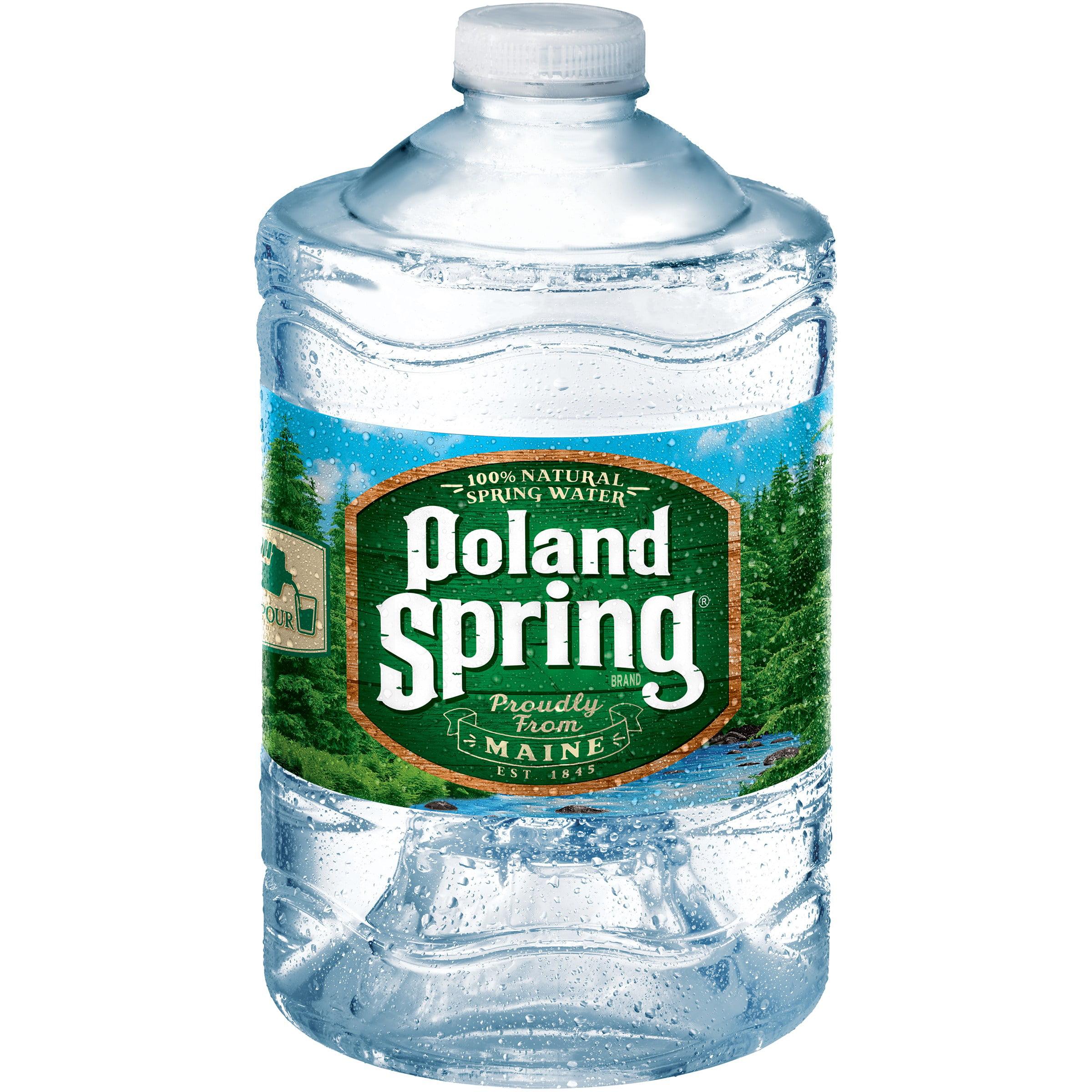 Poland Spring Natural Spring Water, 3 L