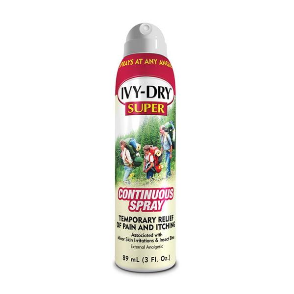Ivy Dry Ivy Dry Super Itch Relief Spray, 3 oz