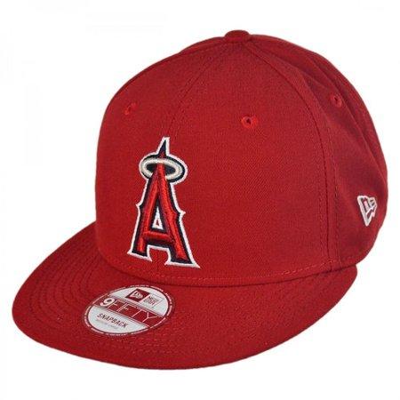New Era Los Angeles Angels of Anaheim MLB 9Fifty Snapback Baseball Cap SIZE: ADJ by